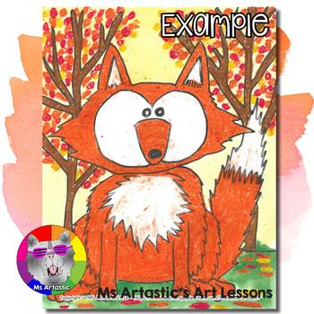 Autumn Art Project, Fox