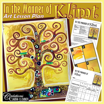 Autumn Art Project : In the Style of Gustav Klimt