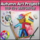 Autumn Art Lesson, Scarecrow Pop Art Project