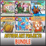 Autumn Art Lessons BUNDLE