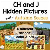 Autumn Articulation Activity for Speech Therapy | CH & J