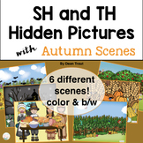 Autumn Articulation Activity for Speech Therapy | SH & TH