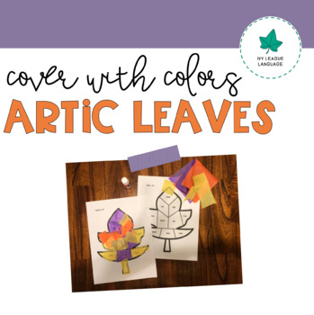 Autumn Articulation: Cover with Colors!