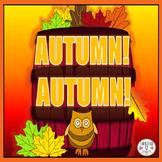 Autumn! Autumn! An Interactive Poem
