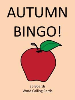 Autumn BINGO!