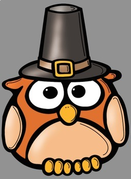 Fall Autumn Back To School Owls Clip Art