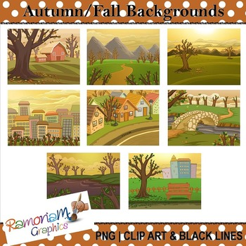 Autumn Fall Backgrounds Clip art