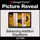 Autumn: Balancing Addition Equations - Google Forms Math |