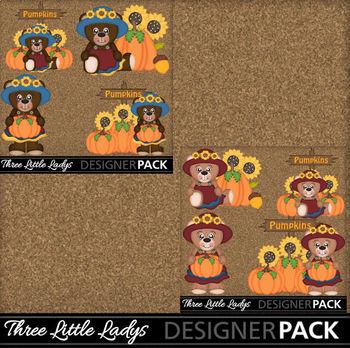 Autumn Bear Girl Bundle