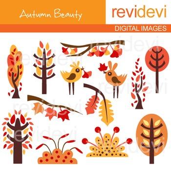 Autumn Beauty Clipart