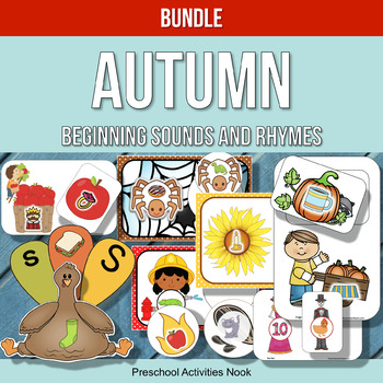 Autumn Beginning Sounds and Rhymes