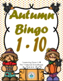 Autumn Bingo 1-10 Game