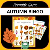 AUTUMN BINGO GAME Two Designs + Options for Distance Learn