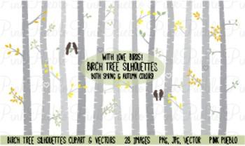 Birch Tree Clip Art Worksheets Teachers Pay Teachers
