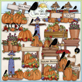 Autumn Blessings Clip Art - Fall Clip Art - Autumn Clip Ar
