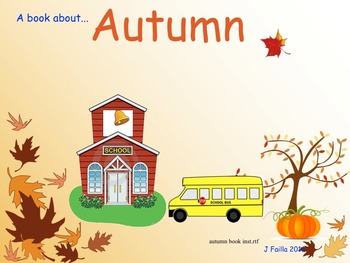 Autumn Book For The Young Student