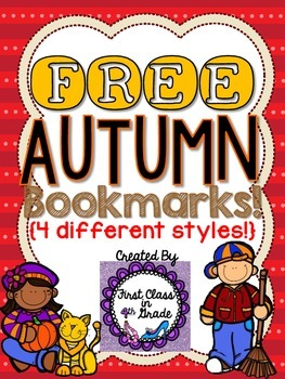 Autumn Bookmarks (Free)