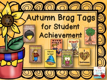 Autumn Brag Tags