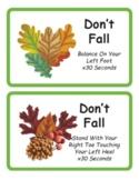 Autumn Break Brain Cards