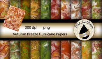 Autumn Breeze Hurricane papers