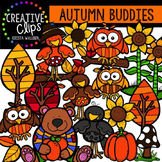 Autumn Buddies {Creative Clips Digital Clipart}
