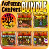 Autumn Bundle Fall Centers Math Literacy Fine Motor Activi