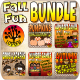 Autumn Bundle Fall Centers Math Literacy Fine Motor Fall Activities