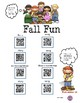 Autumn Bundle Listening Center and More using QR Codes