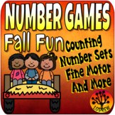 Autumn Centers Number Games Math Centers Fall Activities