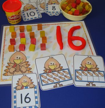 Thanksgiving Centers Number Games Math Centers Thanksgiving Activities