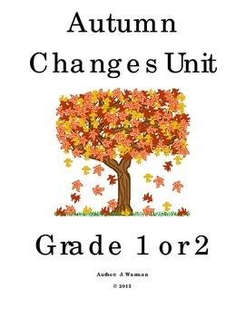 Autumn Changes Unit