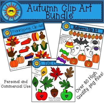 Autumn Clip Art Bundle