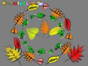 Fall - Autumn - Frames - Clip Art - Personal or Commercial Use