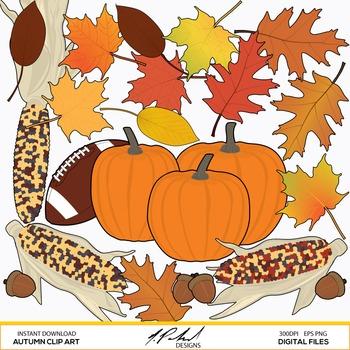 Autumn Clip Art - Thanksgiving Clip Art
