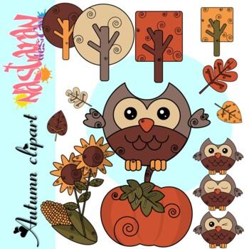 Autumn Clipart - Fall Clipart