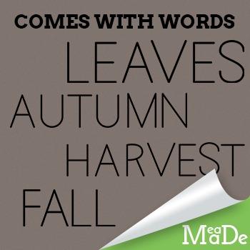 Autumn Clipart Elements - Fall Graphics