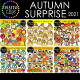 Autumn Clipart Surprise Bundle 2021 ($30.00 Value) {Creati