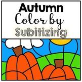Autumn Color by Number Sense