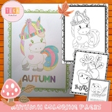 Autumn Coloring Pages - Fall Coloring Pages {TeKa Kinderland}