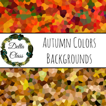 Autumn Colors Chrystal Backgrounds