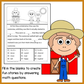 Fall Math Puzzles - 4th Grade Common Core