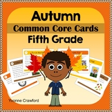Fall Task Cards - Fifth Grade Common Core Math