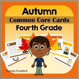 Fall Task Cards - Fourth Grade Common Core Math