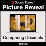 Autumn: Comparing Decimals - Google Forms Math Game | Dist