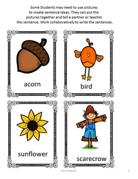 Autumn Complete Sentence Unit