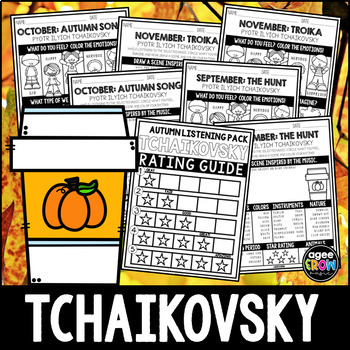 Thanksgiving Autumn Compositions (from Tchaikovsky's Seasons,) Classical Music