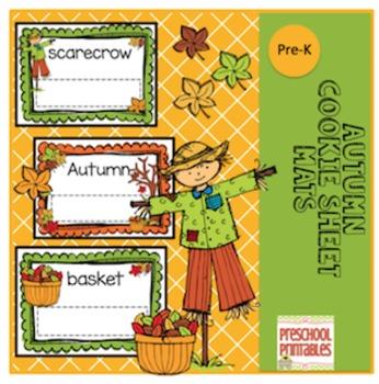 Autumn Cookie Sheet Mats