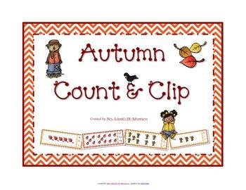 Autumn Count & Clip