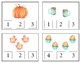 Autumn Count and Clip Cards with Matching Cards