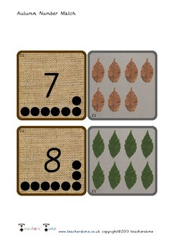 Autumn Count and Match